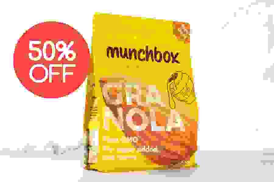 Munchbox Granola Honey Almond